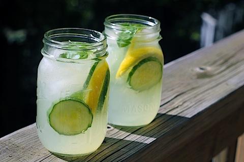 Cucumber Basil Lemonade